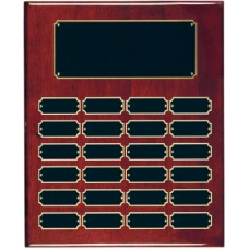 RPP24  Rosewood Finish Perpetual Plaque